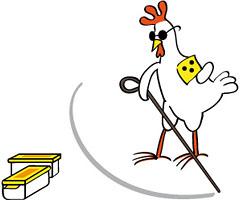 Blindes Huhn sucht einen Cache